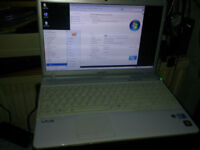 Sony Vaio. Exceptional condition. 4GbRAM 320Gb hard drive. Windows7 fully loaded and secure