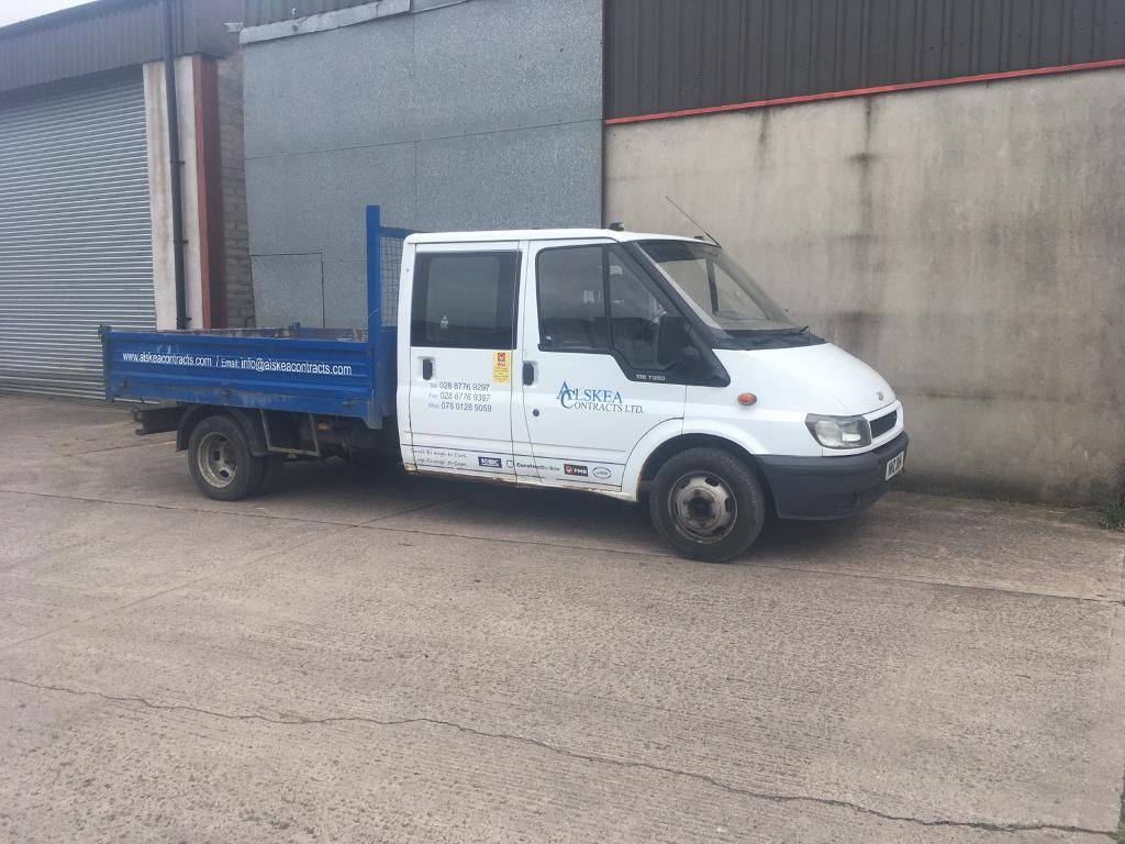 Ford Transit tipper 2.4 TDCI parts 6 Speed gearbox