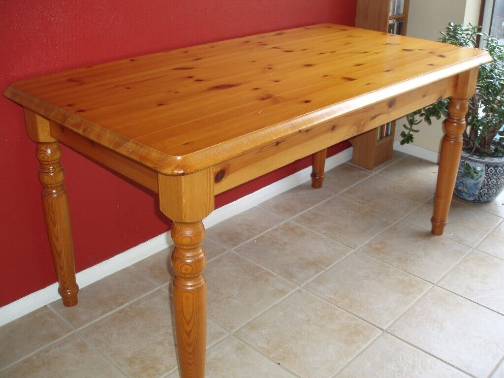 60 Inches X 30 Solid Pine Wooden Table Ideal For Kitchen Or Dining Room In Norwich Norfolk Gumtree