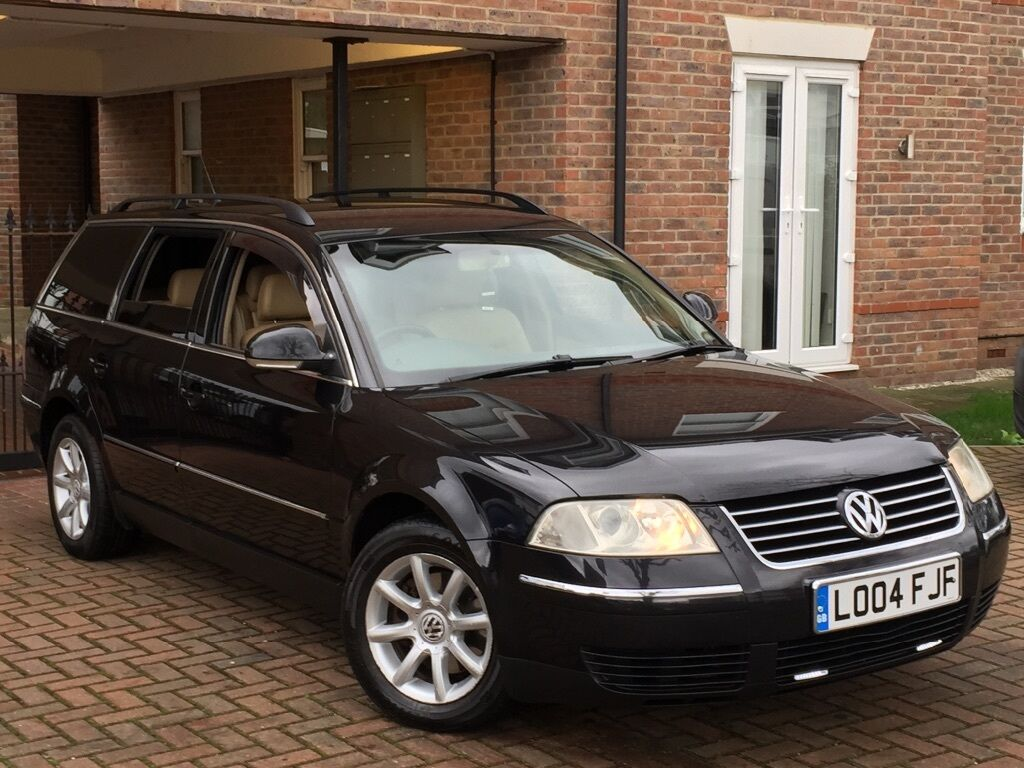 2004 vw passat 1 9 tdi highline estate black cream leather manual in ealing london gumtree. Black Bedroom Furniture Sets. Home Design Ideas