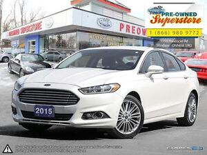 2015 Ford Fusion SE -- NAV, LEATHER, ECOBOOST --
