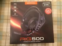 Plantronics RIG 500 Stereo Gaming Headset with Noise-Cancelling Microphone