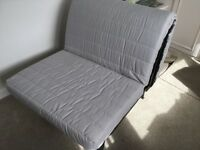 IKEA SINGLE CHAIR BED - LYCKSELE WITH MURBO MATTRESS