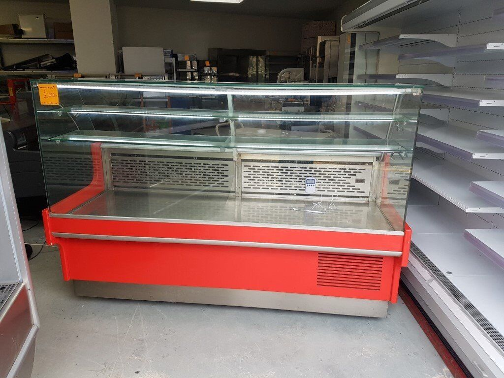 2 Metre Wide Serve Over Display Fridge AST198