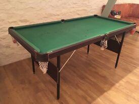 Foldable Snooker Table Set