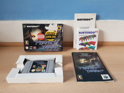 Perfect Dark N64 Complete