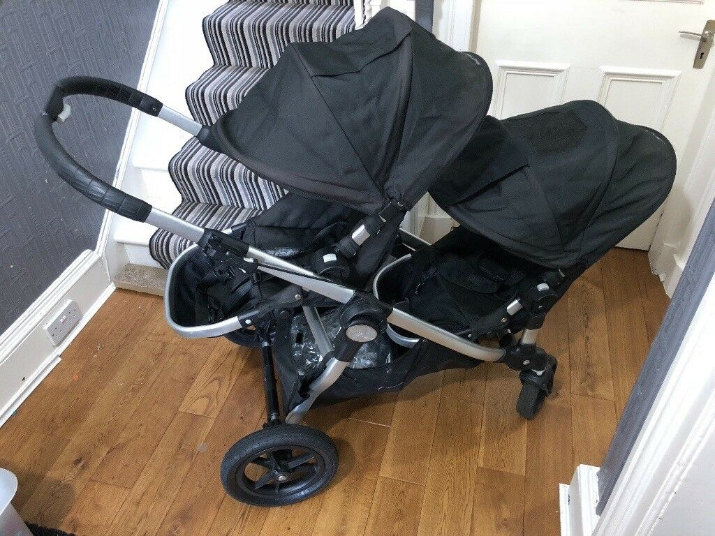 City Select Baby Jogger Twin pram and carrycot