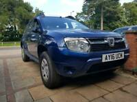 Dacia Duster Ambiance 2016, 1.6 SCe (3229 Miles Only)