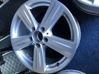 "Mercedes e class 17"" alloy wheels"