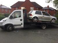 Scrap Cars & Vans & 4x4 Wanted!
