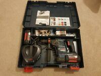 Bosch GBH 36 VF-LI Plus 36v SDS+ Rotary Hammer inc 2x 4Ah Batts & QCC