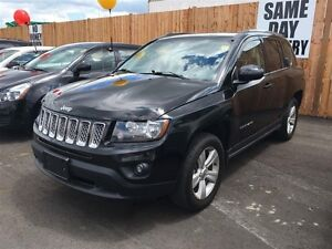 2014 JEEP COMPASS NORTH 4X4 - LEATHER HEATED SEATS, REMOTE START