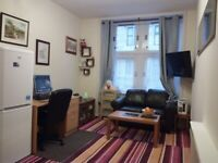 Fully furnished first floor one bedroom flat to let (G11 5NQ)