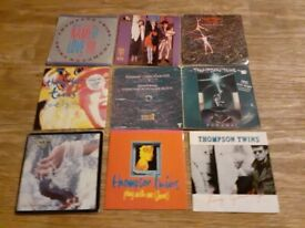 9 x Thompson twins vinyl singles