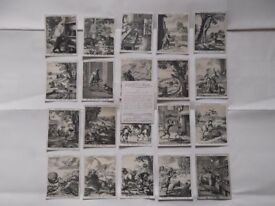 Players large cigarette cards - 21/25 - Fables of Aesop issued 1927