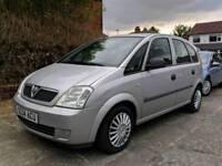 Vauxhall Meriva Life 1.6 + 2004 + CHEAP + Runs PERFECT + Not Astra Zafira Vectra Civic