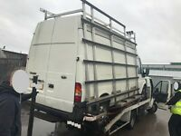 FORD TRANSIT WINDOW GLASS RACK, GLASS ROOF RACK, ALLOY....ALL TRANSIT PARTS