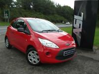FORD KA 1.2 Studio 3dr [Start Stop] (red) 2013