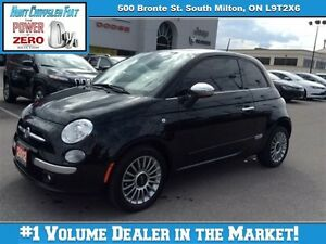 2012 Fiat 500 LOUNGE/LEATHER/AUTO/HEATED SEATS & MORE!!!