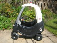 Little Tike Cozy coupe Police Car