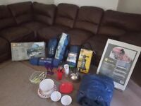 Job lot of camping gear