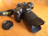 Nikon D90 DSLR with Nikkor 18-105mm VR lens
