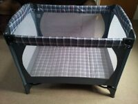 Travel Cot - great for overnight stays!