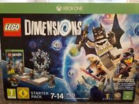 Lego Dimensions Starter Pack with Simpsons Level Pack