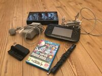 Wii u console with mario game