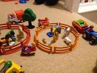 Playmobil animal/zoo/farm/Christmas carousel