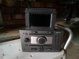 Vectra c steering wheel and CD70 Nav unit with Nav disc