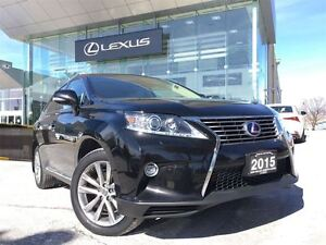 2015 Lexus RX 450H Sportdesign AWD Navi Back Up Cam Leather Blue