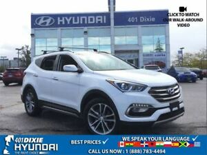 2017 Hyundai Santa Fe Sport 2.0T AWD|LEATHER|PANO SUNROOF|HEATED
