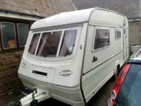 1994 COMPASS RALLY 4 BERTH TOURING CARAVAN WITH ALL ACCESSORIES READY TO GO!
