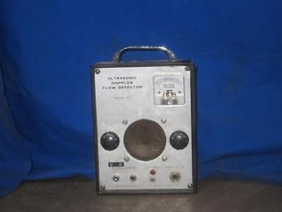 Parks Ultrasonic Doppler Flow Meter Detector Flow Med Office