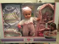 Luxury Baby Doll set