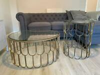Matching Side table & coffee table