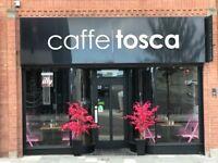 Caffe Tosca 60 seat coffee shop, 62 Ballymoney Street, Ballymena (between Tower Centre & Fairhill)