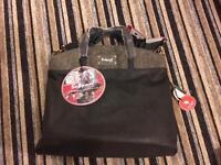 Grey babymel changing bag
