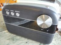 saregama carvaan lovely grey digital audio,has built in over 5000 bollywood songs,bluetooth,usb etc.