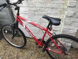 Apollo slant mountain bike as new