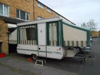 Conway Tardis 6 Berth Folding Trailer Tent – Excellent for low-cost Family Holidays and Touring