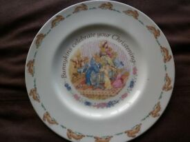 Royal Doulton Christening Plate