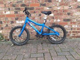 Ridgeback MX16 bike , Blue - excellent condition
