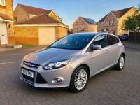 2013 FORD FOCUS ZETEC 1.0 TURBO ECOBOOST, TAX £20, MOT MARCH 2019