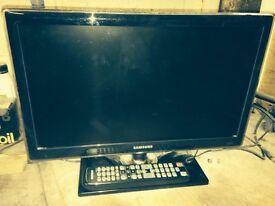 Flat screen 20ich TV