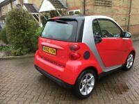 Smart Fortwo CDI Diesel Auto 2010 31k 1 Registered keeper Free road tax up to 83mpg just sreviced