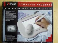 Brand new Trust Wireless Design & Work Tablet 200 only £13