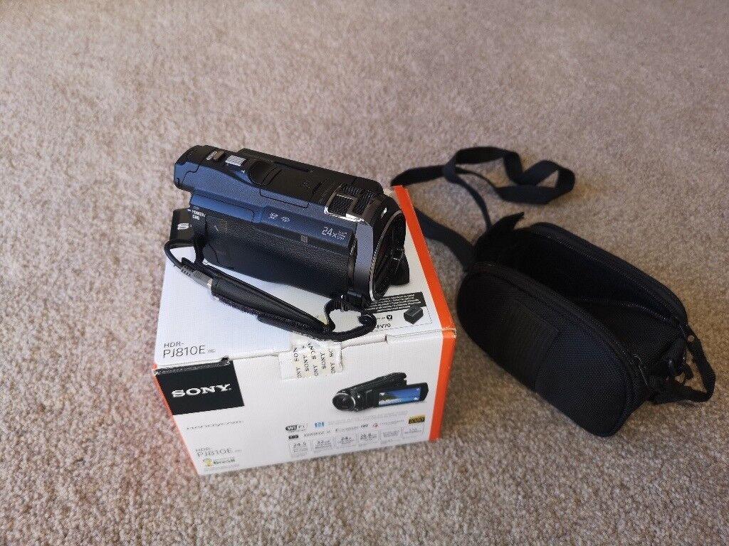 Sonyhdr Pj810e Camcorder In Stone Staffordshire Gumtree Sony Hdr Pj810 Full Hd Handycam