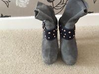 Size 5 Zandra Rhodes Boots